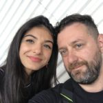 Chris Fx con Elisa Maino