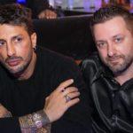 Chris Fx con Fabrizio Corona