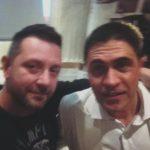 Chris Fx con Moreno Morello