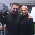 Chris Fx con Elodie