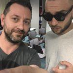 Chris Fx con Briga