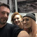 Chris Fx con Eva & Roshelle