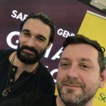 Chris Fx con Andrea Biagioni