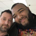 Chris Fx con Sergio Silvestre