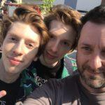 Chris Fx con i Ciuffi Rossi