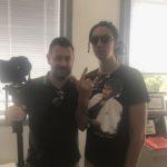 Chris Fx con Ghali