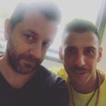 Chris Fx con Francesco Gabbani