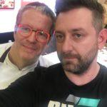 Chris Fx con Ernst Knam