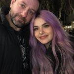 Chris Fx con Rosalba