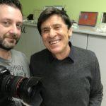 Chris Fx con Gianni Morandi
