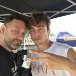 Chris Fx con Riki