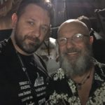 Chris Fx con Sergio Caputo