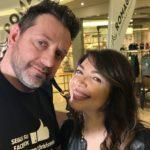 Chris Fx con Cristina D'Avena