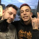 Chris Fx con Sfera Ebbasta